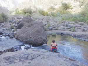 La Palma Smart Island-Projekt: You never walk alone... auch an abgelegenen Orten der Insel. Foto: La Palma 24