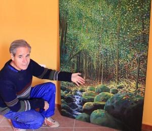 Luis Morera: Dem Maler, Architekt, Sänger und Dichter liegt allem voran der Schutz der Natur auf La Palma am Herzen. Foto: La Palma 24
