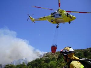 La Palma Smart-Island-Projekt: Über die Insel verteilte Sensoren könnten Hilfstrupps wie die BRIF-Feuerwehrleute könnten