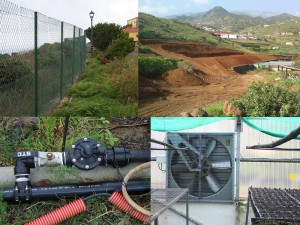 Technik im Vivero: wird ständig verbessert. Fotos: Cabildo de La Palma