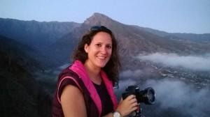 """Montserrat Alejandre aus Los Llanos: 1. Preis im Astrofotowettbewerb 2015 im Bereich """"Astronomische Landschaften über La Palma"""". Foto: Facebook-Seite von Montse"""