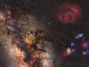 Part of the Milky Way-Gerald Themann-1-Preis-Astrofotowettbewerb La Palma 2015