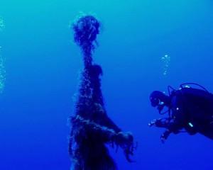 """Tauchen La Palma: teils """"monströse"""" Überraschungen. Foto: Georg Maghon"""