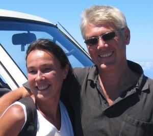 """Barbara und Georg strahlen: Vor zehn Jahren haben sie das Dive-Center """"Tauchpartner La Palma"""" übernommen, und seitdem läuft´s."""