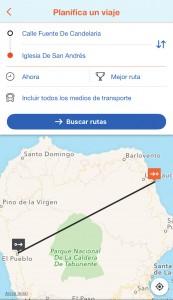 Moovit-App für La Palma: