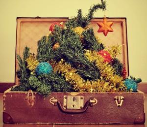 Weihnachtsbaum mit in den Urlaub nehmen: Kommt häufiger vor, als man denkt. Pressefoto Condor