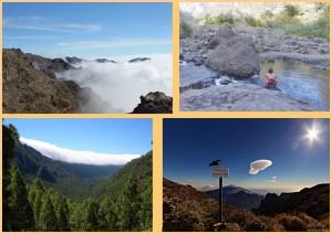 Die Caldera de Taburiente auf La Palma: In diesem gigantischen Vulkankrater beginnt die Amakuna-Saga.