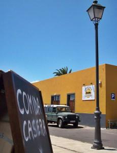 Leicht zu finden: Die Cervezería Isla Verde liegt am kurz vorm Ortseingang von Tijarafe. Foto: La Palma 24