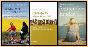 """Vom Filmemachen zum Schreiben: Die esten drei Bücher von Susanne Aernecke waren """""""