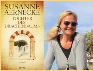 """Susanne Aernecke: Die Filmemacherin ist derzeit auf La Palma und präsentiert ihren Roman """"Tochter des Drachenbaums"""" persönlich. Fotos: Verlag/La Palma 24"""