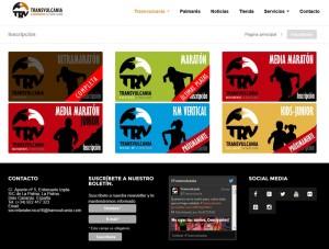 Transvulcania-Website: neu gestaltet!