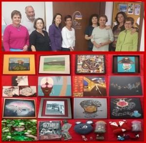 Die Amigos Pintores de Las Breñas: Bilderversteigerung für den guten Zweck.