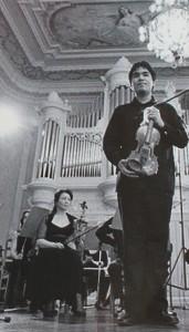 Eric Silberberger: Der Geiger aus den USA spielt zusammen mit dem La Palma Festivalorchester.