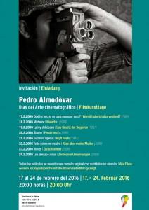 Filmwoche im Kunstraum La Palma in Tazacorte: Draufklicken, dann kann man das Programm lesen.