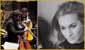 Lucas Macías Navarro und Rebekka Hartmann: Oboe trifft Geige. Fotos: Künstler