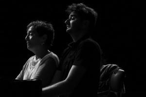 Maria João und Julien Brocal: Weltklasse-Konzert der beiden begnadeten Pianisten aus Portugal und Frankreich. Foto: Künstler