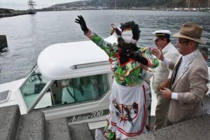 Santa-Cruz-Foto-Negra-tomasa-Ankunft-Hafen