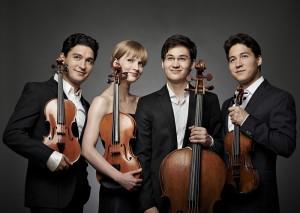 Schumann Quartett: Drei Brüder und Liisa Randalu machen es spannend. Foto: Künstler