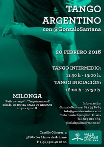 Am Samstag: Tanz den Tango!