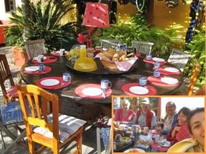 Frühstück bei Ödi: kein Frühstück bei Tiffany, aber ein Juwel, wenn man andere Gäste der Musicasa kennenlernen will.