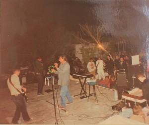 Salvamos-La-Playa-Concierto 2004: Ödi und seine Band. Foto: Archiv Susi
