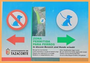 Playa-Los-Guirres-Schild