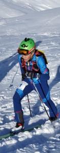 Stephan: trainiert im Winter wie viele seiner Bergläufer-Kollegen mit den Tourenskiern.