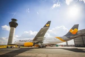 Thomas Cook: Fliegt sommers wie winter von Brüssel nach SPC. Pressefoto Thomas Cook