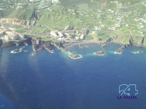 Playa Los Cancajos: Auch hier daraf man seinen Hund nicht frei laufen lassen. Foto: La Palma 24