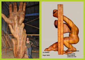 Skulpturen von Pege: Im Zigarrenmuseum