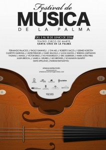 Ganz neu: Das Plakat zum Musikfestival taucht jetzt überall auf.