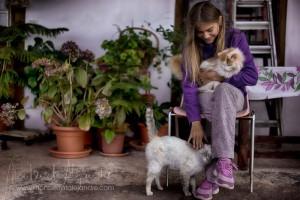 Kids von Freunden: eines von Montses Lieblingsmotiven und mit ein Grund, immer wieder nach La Palma zurückzukehren.