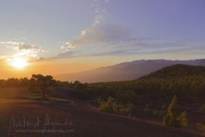 Sonnenuntergang über El Paso: