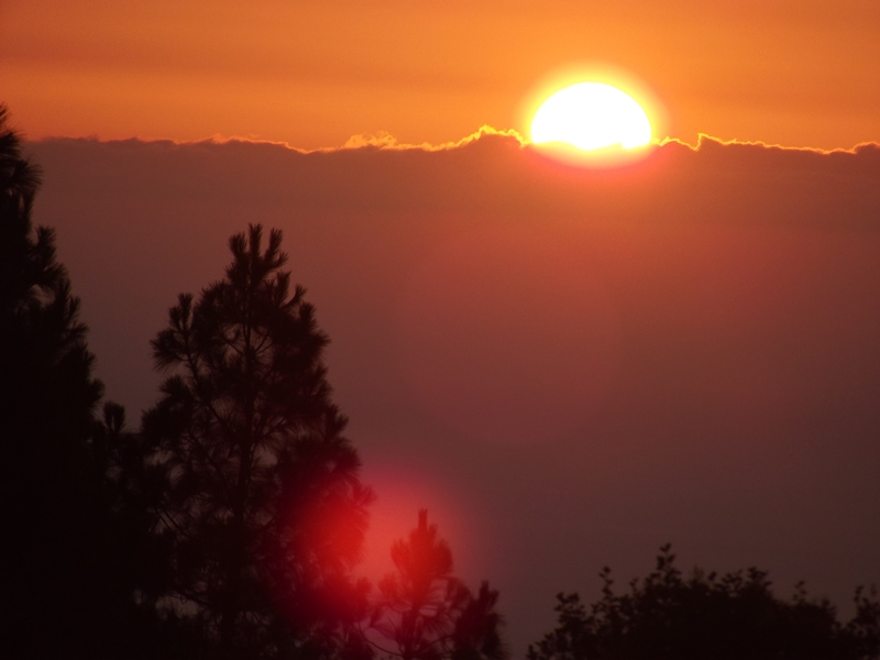 zonsondergang maart 2017