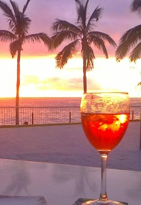 sunset-puerto-naos-drink