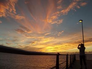 sunset-puerto-naos-wind-wolken