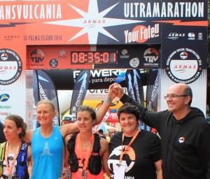 Top 3 Frauen Ultramarathon 2016