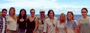 Hola-Redaktion auf La Palma: schöne Werbung für die Isla Bonita. Foto: Cabildo