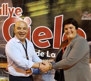 Ascensión Rodríguez: Inselsporträtin mit Herz für den Motorsport. Foto: Cabildo