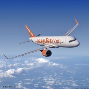 EasyJet kommt: Ab September hat die Low Cost-Airline angekündigt, Santa Cruz de La Palma mit Berlin und London zu verbinden. Pressefoto Airbus