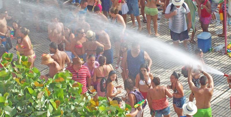 Wasserfest in Puerto Naos: wieder am 23. Juli 2016. Foto: La Palma 24