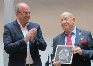 Zweiter Stern für Alexei Leonow im Paseo de las Estrellas de la Ciencia de La Palma