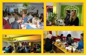 Events im Vereinslokal der Asociación La Banana: Da wird gemeinsam gekocht und gegessen, gesungen und getanzt. Übrigens können Bands, die hier mal auftreten wollen, sich einfach bei Gaby oder Ángel melden - und es darf ruhig auch mal Rock oder Pop sein.