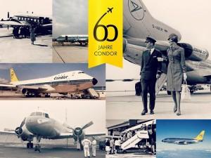 60 Jahre Condor: Zur Feier des Geburtstags spendet die Airline 60 Cent pro Flugbuchung