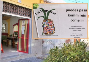 Das Vereinslokal der La Banana-Asociación in der Calle