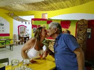 ‹Gaby und Ángel: deutsch-palmerisches Paar seit 28 Jahren und immer noch verliebt.