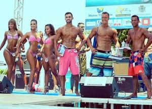 Zum dritten Mal bei der Fiesta de Agua: Wahl zur Miss und zum Mister Fitnasio. Foto: Fiesta de Agua 2015