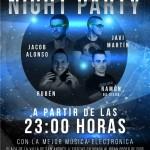 Night Party: E-Musik in San Andrés y Sauces.