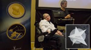 Stephen Hawking-Ehrungen: Von La Palma gab´s einen Stern für den Walk of Fame der Wissenschaft - die Starmus-Macher verleihen ihm die
