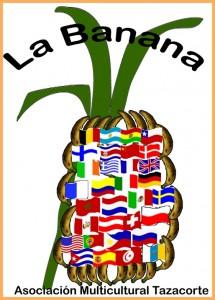Das Logo der Asociación: natürlich eine Bananenstaude.